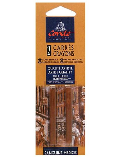 Conte Crayons black HB pack of 2 [PACK OF 4 ]