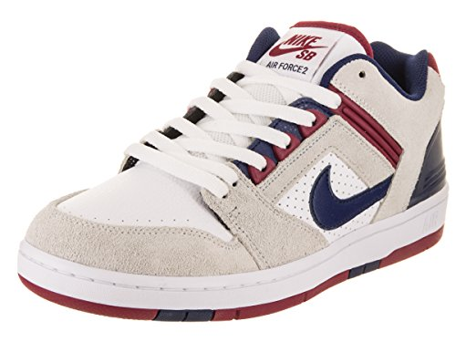 SB EU Low Uomo Air NIKE Sneakers 44 Suede Pelle Force 5 II Marrone A5HOxq7w