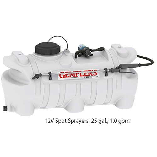 Gempler's Spot Sprayer for Fertilizer, Herbicide and Pesticide – 25 Gallon, 1.0 GPM, 12V, 40 PSI