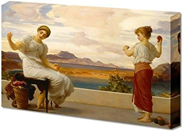 Winding The Skein by Frederic Leighton