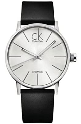 Calvin Klein K7621192 42 Stainless Steel Case Leather Men's Watch