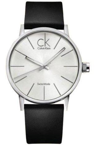 Calvin Klein K7621192 42 Stainless Steel Case Leather Men's Watch