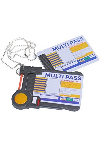 Fun Costumes Fifth Element Multipass Accessory Standard]()