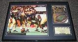 1999 Pitt vs Notre Dame Framed Ticket & Photo Display Last Game at Pitt Stadium