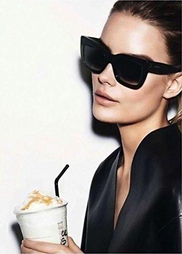 celine bag online authentic - Celine Popular Geo Square CL41048 Black Frame Sunglasses (As seen ...
