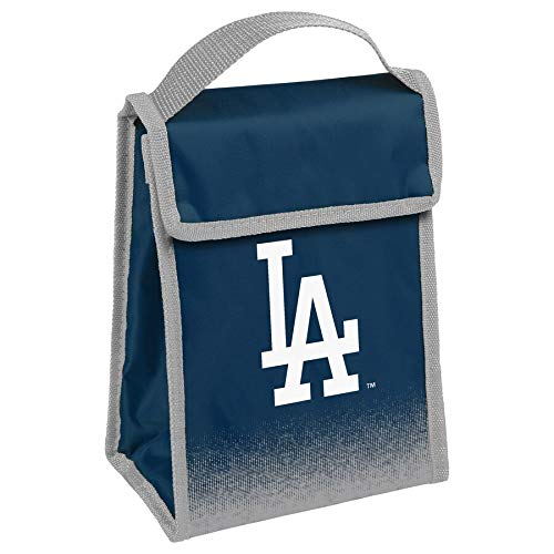 Dodgers Blue Lunch Bag Insulated with Team Logo (Dodgers Lunch)