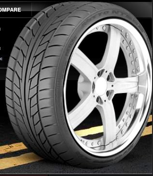 Nitto NT555 Extreme ZR Racing Tire 285/40ZR18 101W