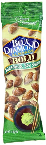 Blue Diamond Bold Almonds, Wasabi & Soy Sauce, 12 pk 1.5 oz ()