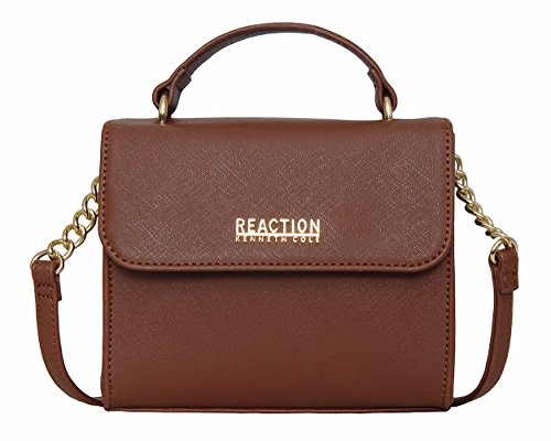Kenneth Cole Reaction KN1970 Trickster Mini Crossbody Messenger Shoulder Bag (EARTH) (Cole Reaction Kenneth Purse)