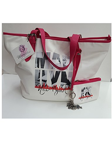 Borsa in ecopelle Marilyn by Sam Shaw con pochette abbinata - Idea Regalo