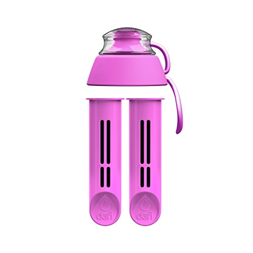 eplacement - 2-Pack Filters Sport Cap - Enjoy Healthy and Tasty Water Anywhere You go (Pink) ()