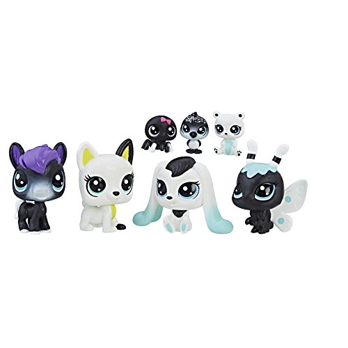Littlest Pet Shop Black & White Pet Friends, Collection 4 (Lps Xmas)