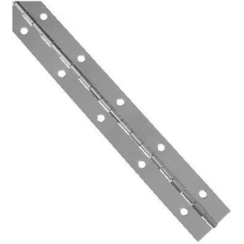 National Hardware V571 1-1/2' X 12' Continuous Hinges in Stainless Steel