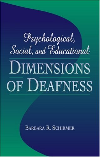 Psychological, Social, and Educational Dimensions of...