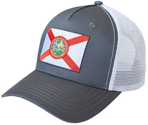State Flag Flag Cap - International Tie State Flag Hat (Florida State Flag)