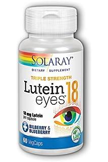 Solaray - Lutein Eyes, 18 mg, 60 capsules