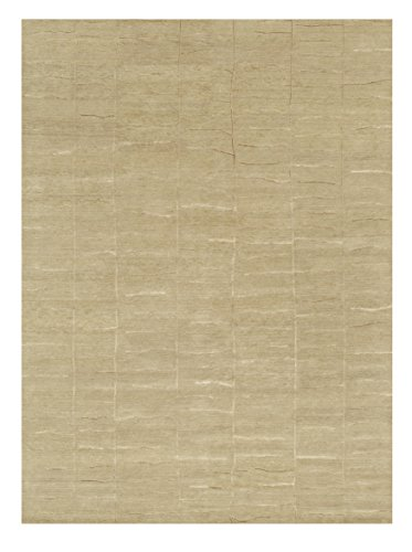 2' x 3' Rectangular Loloi Accent Rug HERMHE-06AL002030 Almond Color Handmade in India ''Hermitage Collection'' by Loloi