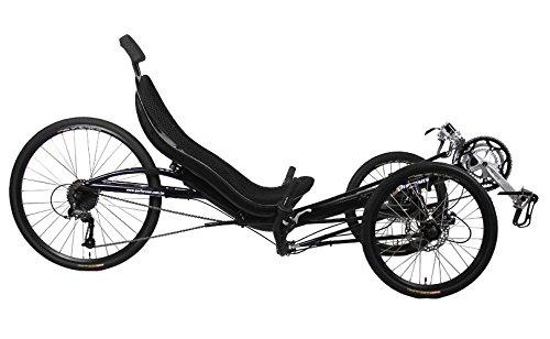 Performer Trike-E Recumbent Trike (27S, FRP seat)