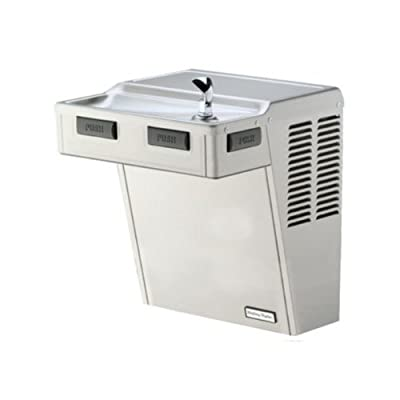 Halsey Taylor HAC8FS-Q ADA-PV Approved Wall-Mount Water Cooler, Platinum Vinyl