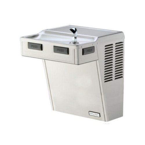 Halsey Taylor HAC8FS-Q ADA-PV Approved Wall-Mount Water Cooler, Platinum Vinyl by Halsey Taylor