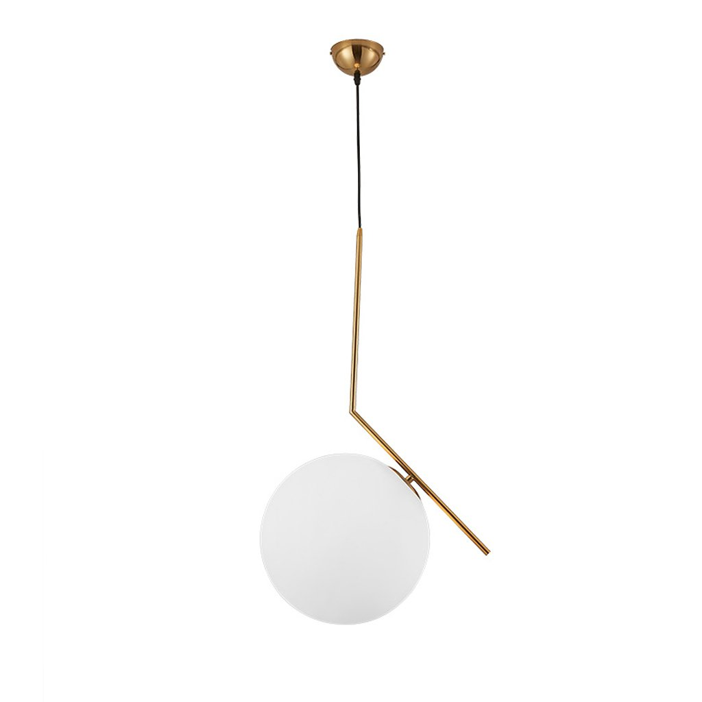 Wsxxn Luxury Creative Chandelier with Nordic Pendant Light, Personalized Bedside Candelabra and Mini Bedside Lamps Pendant Lighting Lantern Lamps (Size : Diameter 20cm)