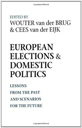 Book European Elections and Domestic Politics: Lessons from the Past and Scenarios for the Future (ND Contemporary European Politics) (2007-10-01)