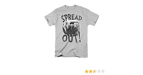 Three Stooges FRESH FISH Licensed Adult Long Sleeve T-Shirt S-3XL