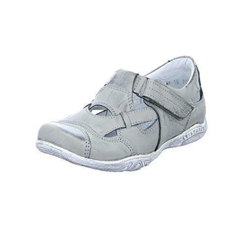 Kristofer 2034 Grau Leder Sandale Grey Damen rAqTw8xrg