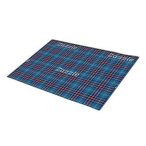 En Lyan Background Plaid Background Custom Doormat Christmas Door Mat