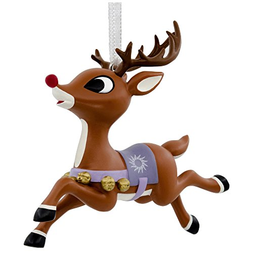 Hallmark Rudolph the Red-Nosed Reindeer Christmas Tree Ornament (Rudolph The Red Nosed Reindeer Christmas Decorations)
