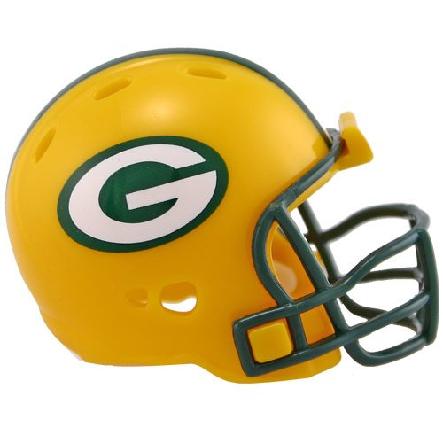 (Riddell Green Bay Packers Revolution Pocket Size Helmet)