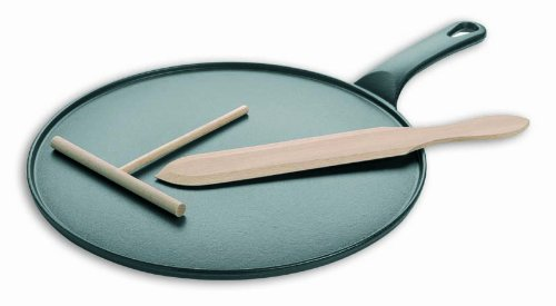 Matfer Bourgeat 071122 Cast Iron Crepe Pan by Matfer Bourgeat