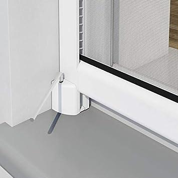 pro insect Insektenschutz-Rollo PRO f/ür Fenster 160x160cm anthrazit