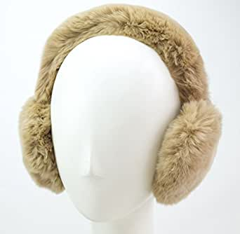 Rex Rabbit All Fur Earmuff (Camel)