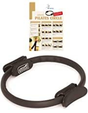 SISSEL PILATES Circle, pilatesring med halkfria handtag, träningsutrustning för core träning