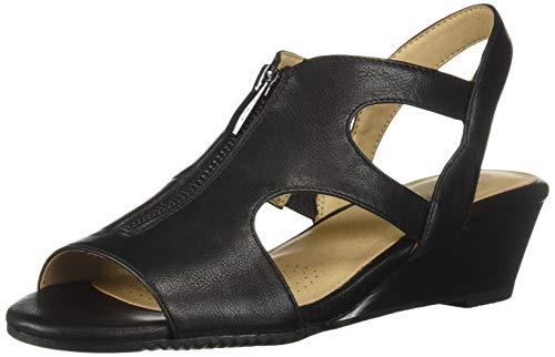Aerosoles A2 Women's HAPPENSTANCE Sandal, Black, 8 M US from Aerosoles