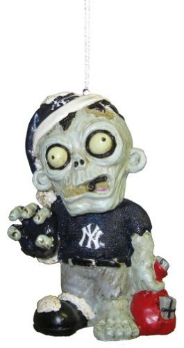 New York Yankees MLB Zombie Christmas Ornament Ny Yankees Ornaments