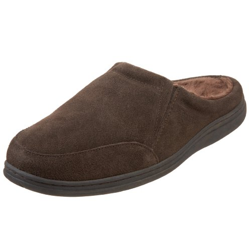 Tamarac by Slippers International Men's Koosh Spa Scuff,Rootbeer,12 - Cambridge Outlet Mall