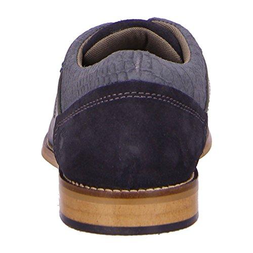 BULLBOXER 615P25264AB5NA - Zapatos de cordones de Piel para hombre Azul - p248