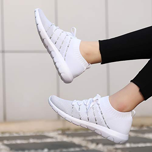 EvinTer Womens Running Shoes Lightweight Comfortable Mesh Sports Shoes Casual Walking Athletic Sneakers