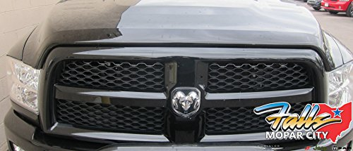 Air Deflector Bug (Dodge Ram 2500-5500 Tinted Front Bug Air Deflector Mopar OEM)