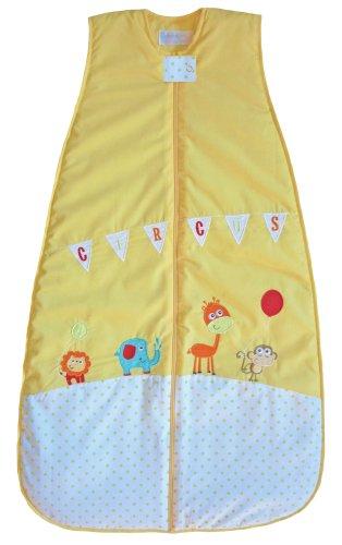 (The Dream Bag Baby Sleeping Bag Circus COTTON 18-36 Months 2.5 TOG - Yellow)