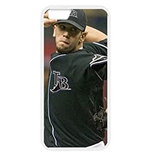 MLB iPhone 6 White Tampa Bay Devil Rays cell phone cases&Gift Holiday&Christmas Gifts NBGH6C9125562