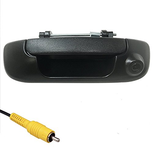 2004 Dodge Truck - Master Tailgaters Dodge Ram 2002-2008 BLACK Tailgate Handle with Backup Camera