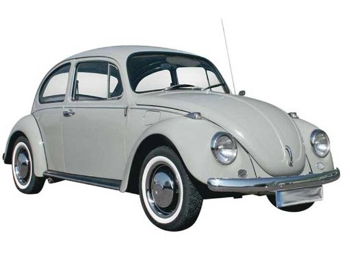 Amazon.com: Revell '68 Volkswagen Beetle Plastic Model Kit: Toys &