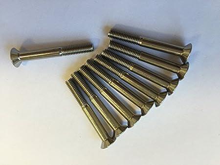 M5 x 40 STAINLESS COUNTERSUNK CSK ALLEN BOLT SOCKET SCREWS 10 PACK