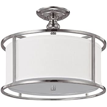 Capital Lighting 3874PN-496 Studio Collection 3-Light Semi