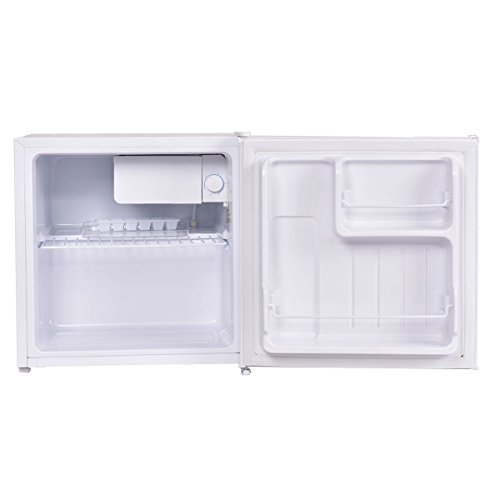 Costway Compact Reversible Refrigerator Freezer