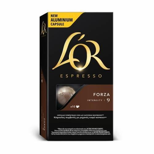 LOR Espresso - Forza (1 x 10 Capsules): Amazon.com: Grocery ...