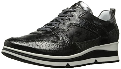 discount for nice Mephisto Women's Vicky Oxford Dark Grey Ice/Black Queen; Steel Python/Magic clearance outlet 1QpJIfj